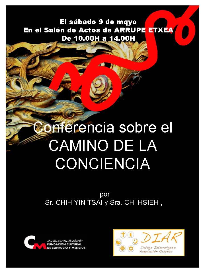 Conferencia sobre el CAMINO DE LA CONCIENCIA
