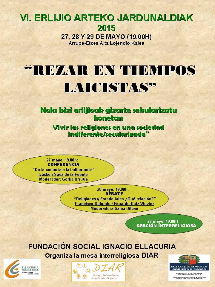 Jornadas interreligiosas 2015