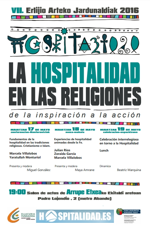 cartel jornadas interreligiosas 2016