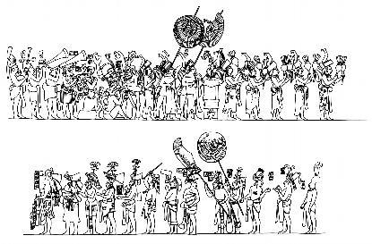 Músicos maya